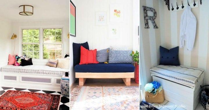 10 ideas fáciles de cojines para el sofá cama