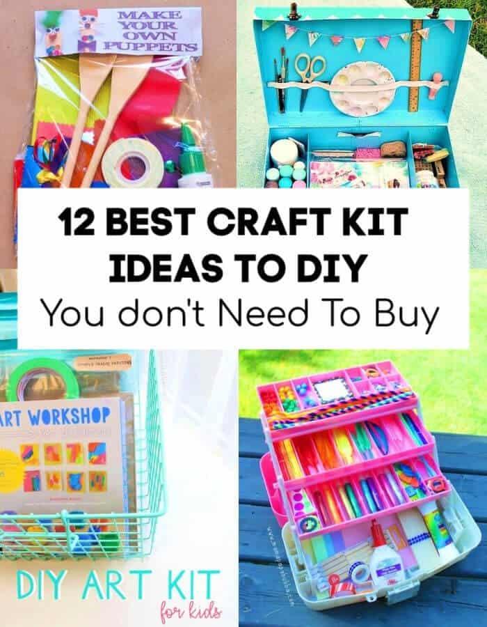 12 mejores ideas de kits de manualidades para bricolaje que no necesita comprar