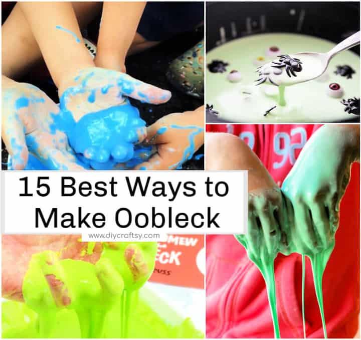 15 mejores formas de hacer Oobleck