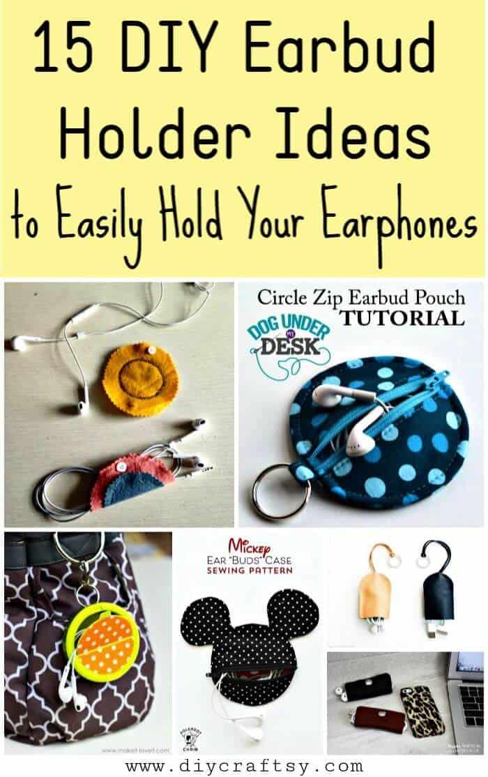 15 ideas de soporte para auriculares de bricolaje, tarjeta de crédito para soporte de auriculares de bricolaje, funda para auriculares, envoltura de auriculares de bricolaje, soporte para cables de auriculares de bricolaje