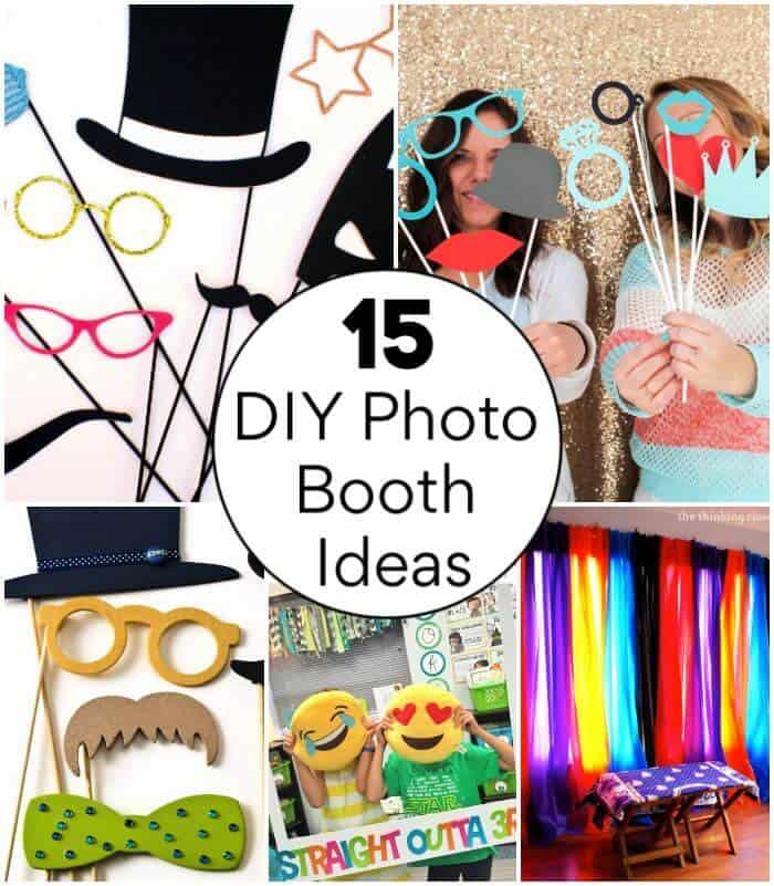 15 ideas fáciles de fotomatón de bricolaje para su próxima fiesta, construya su propio fotomatón, construya su propio fotomatón, marco de fotomatón de bricolaje, manualidades de bricolaje