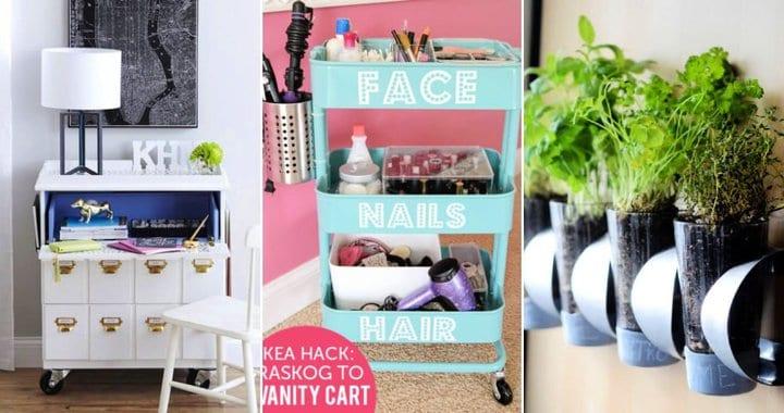 20 mejores trucos de bricolaje Ikea para hacer decoración del hogar a bajo precio