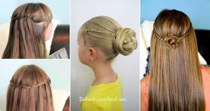 25 mejores peinados de preadolescentes y niños pequeños para niñas
