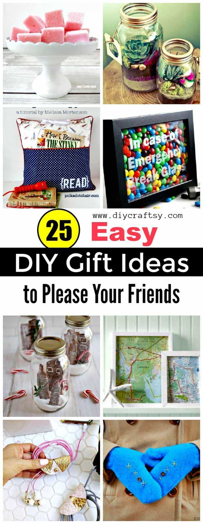 Ideas de regalos de bricolaje