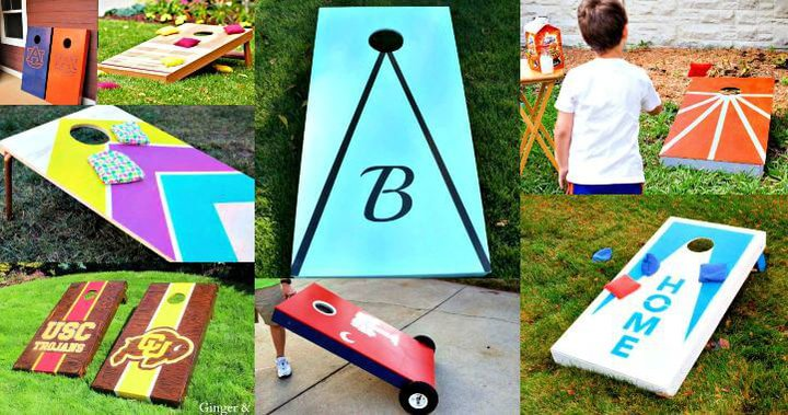 27 tableros de bricolaje Cornhole para construir uno para este verano, juegos de bricolaje para niños, proyectos de bricolaje, ideas de bricolaje