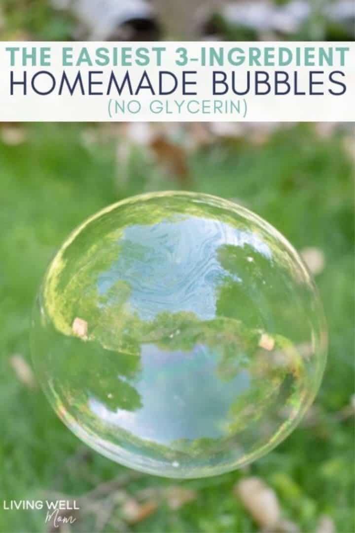 3 Ingredientes Burbujas Caseras
