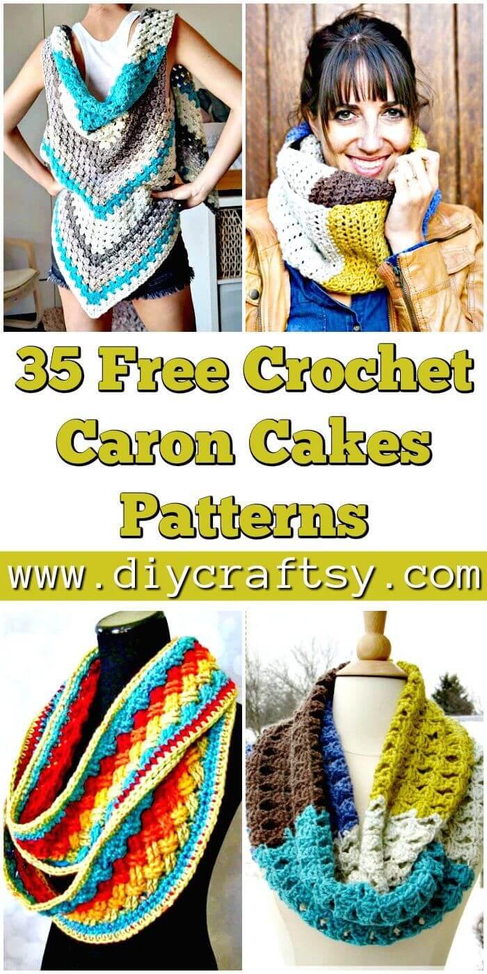 35 patrones de tortas de Caron de ganchillo gratis - Patrones de ganchillo gratis - Manualidades de bricolaje