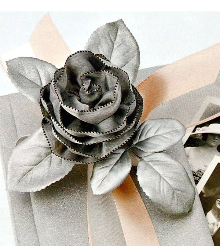 Cómo hacer DIY Ribbon Roses