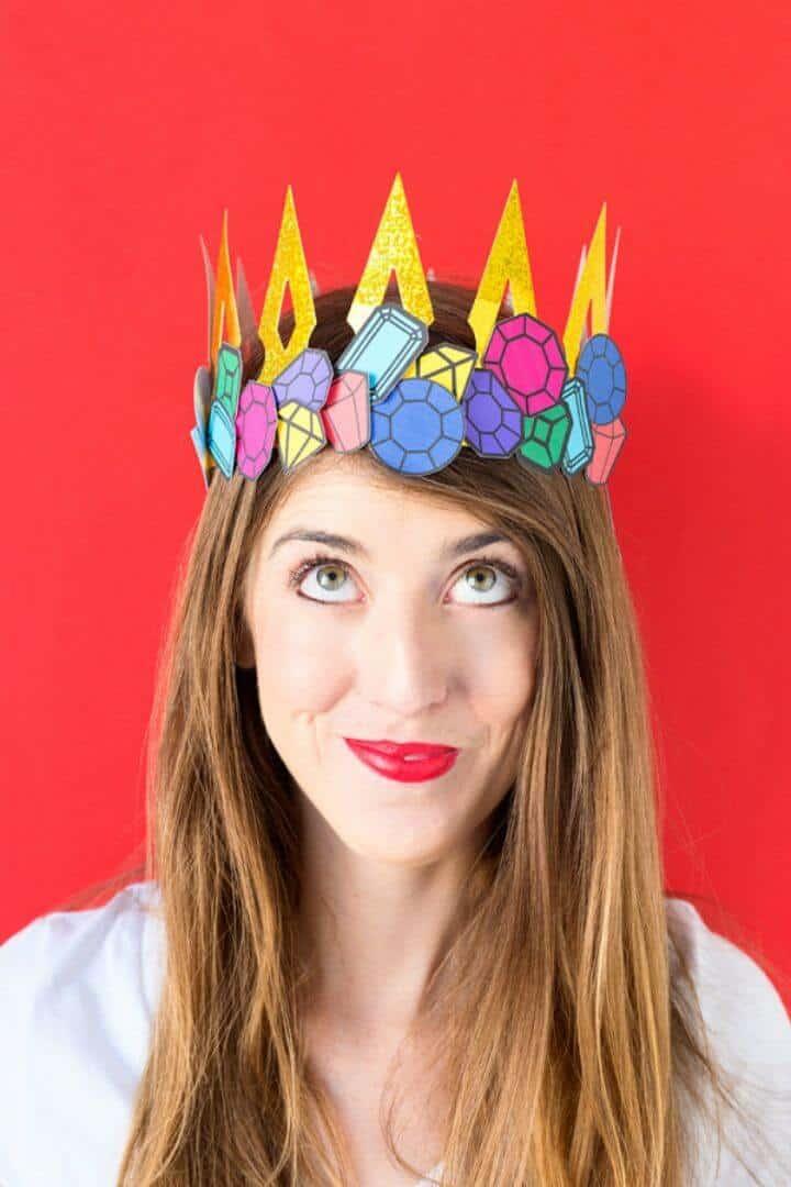Accesorio de disfraz de bricolaje de último minuto - Ideas de corona