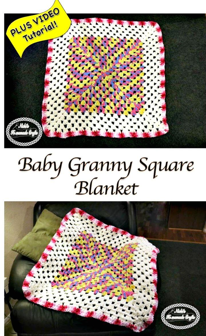 Baby Granny Square Blanket?  Patrón de ganchillo gratis