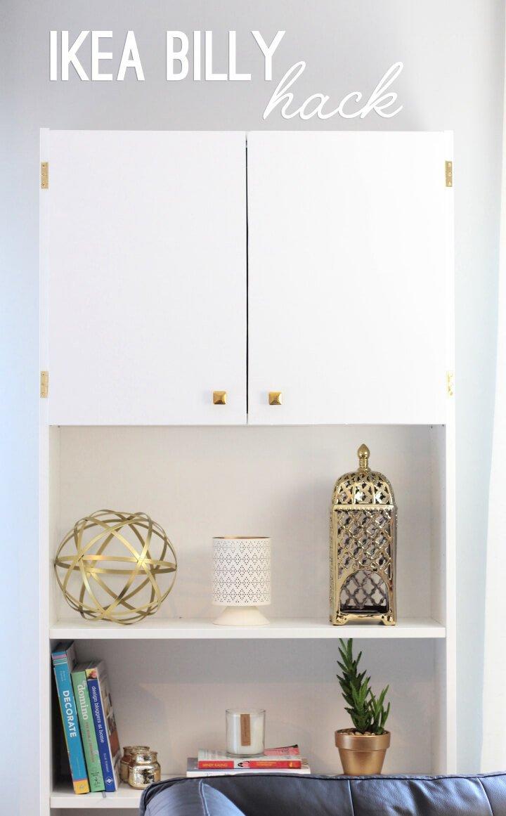 Hermoso hack de librería Ikea Billy
