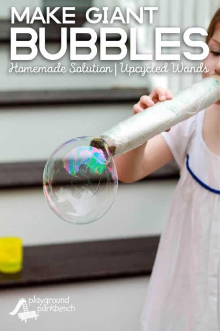 Las mejores burbujas caseras
