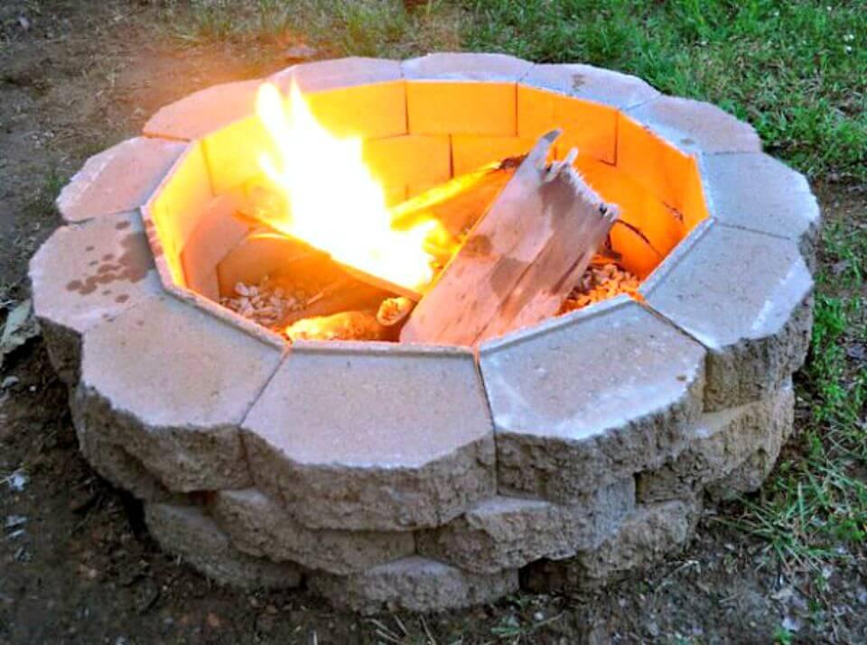 Construya un pozo de fuego en el patio trasero - Bricolaje
