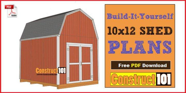 Cómo construir un cobertizo para jugadores - Plan gratuito