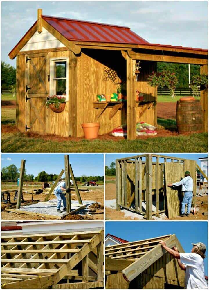 Construya este cobertizo para macetas - Plan gratuito