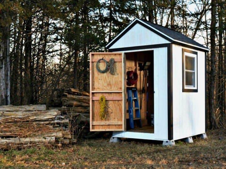 Construya su propio cobertizo simple desde cero