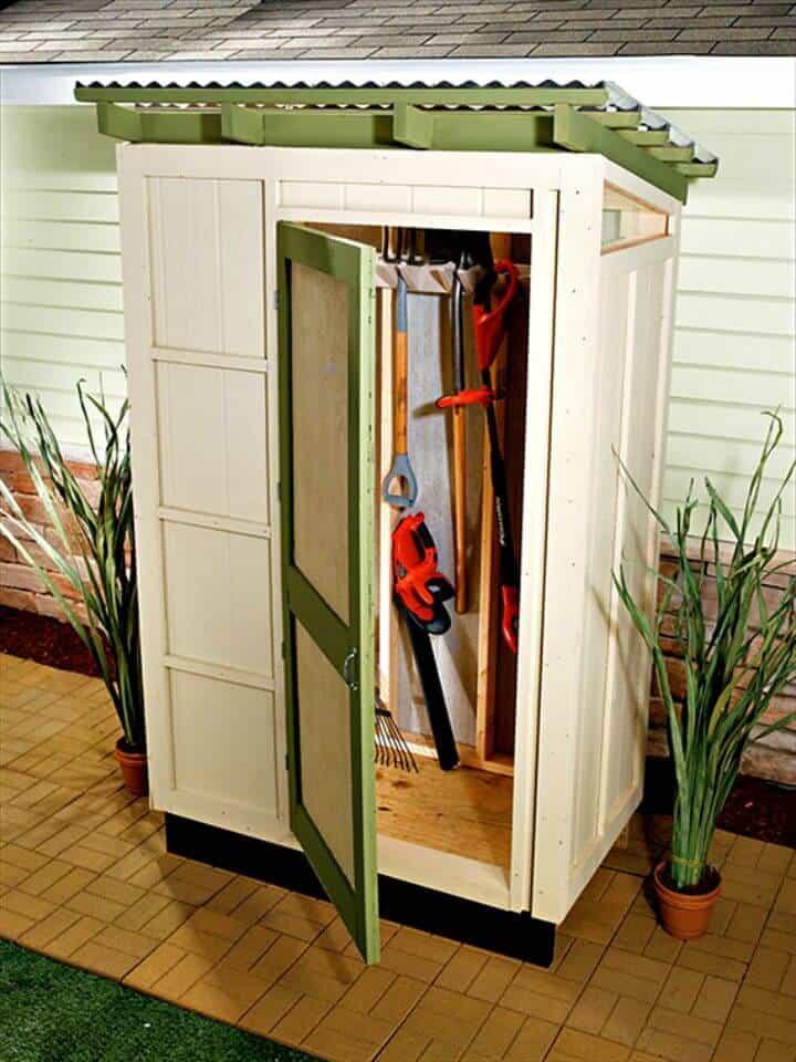 Construya su propio cobertizo de almacenamiento: planes gratuitos