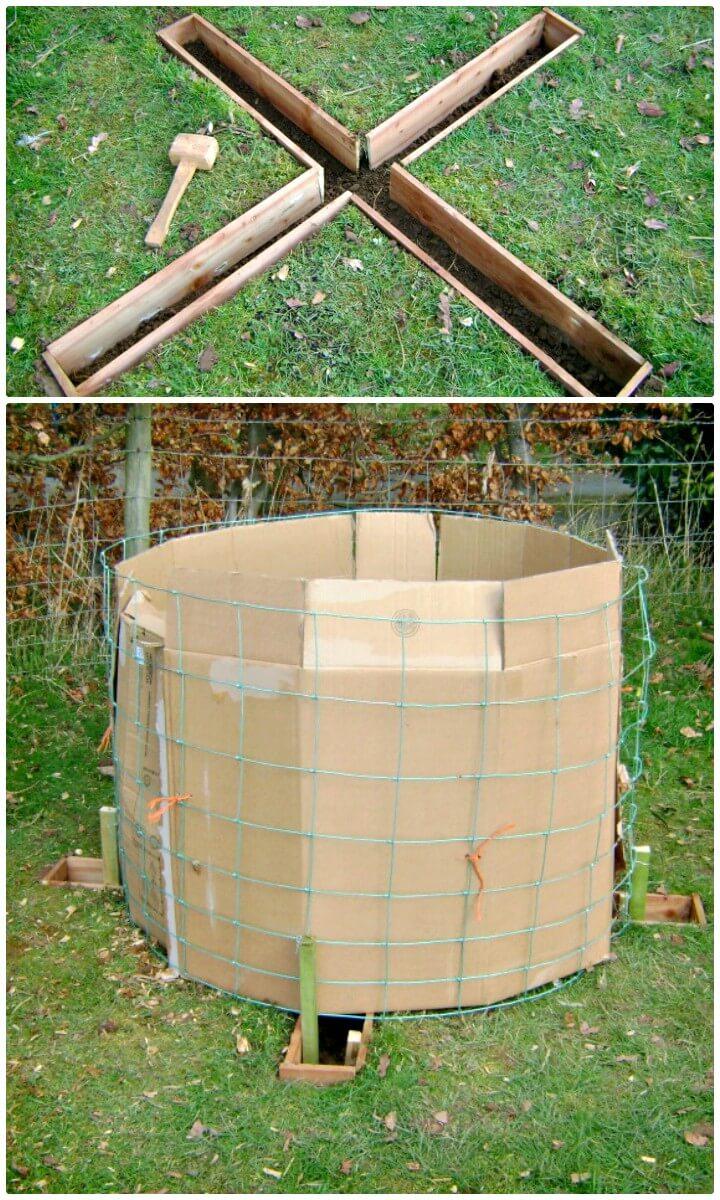 Construya su contenedor de compostaje X Marks the Spot - Plan de bricolaje