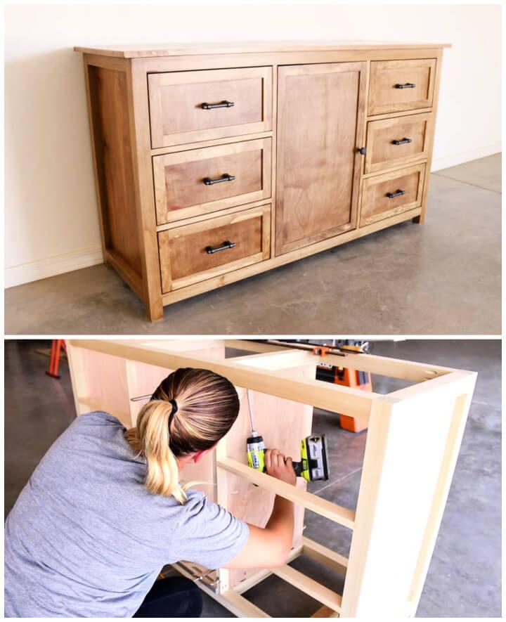 Construya una cómoda rústica planos de construcción gratuitos