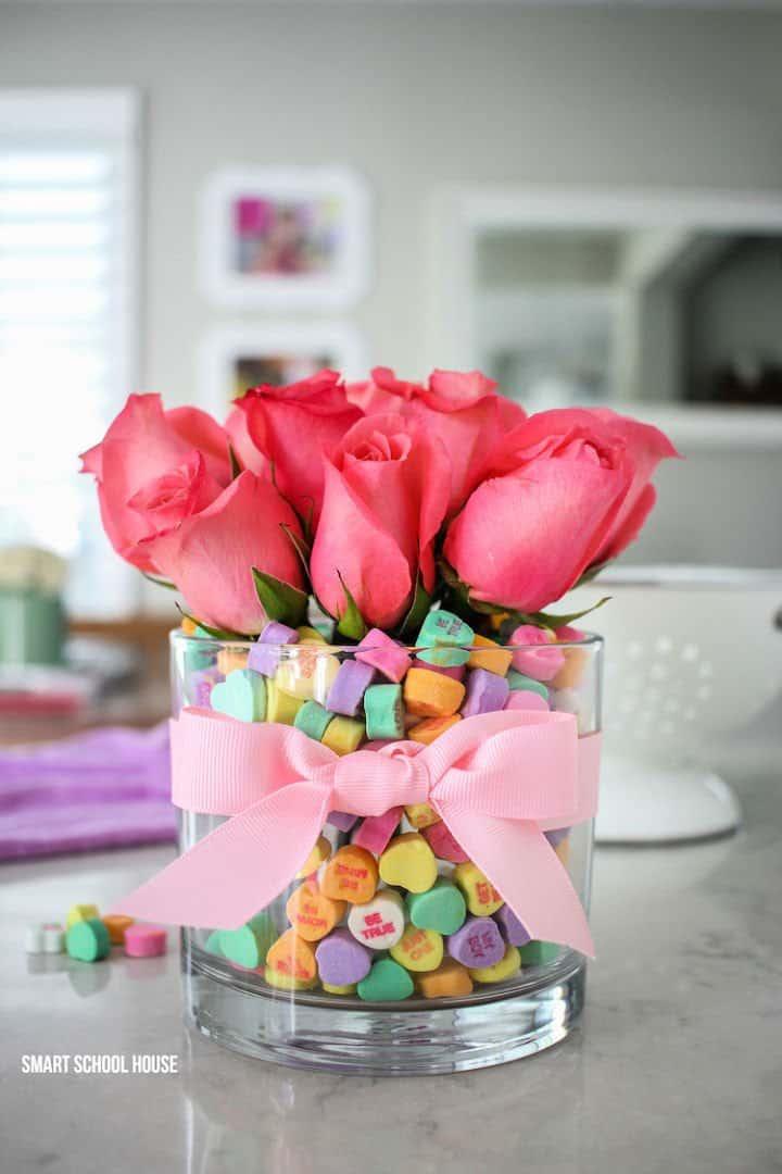 Ramo de San Valentín Corazón de Caramelo