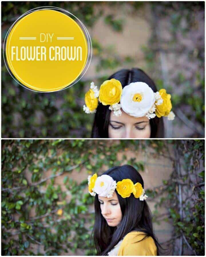 Cómo crear una corona de flores - bricolaje