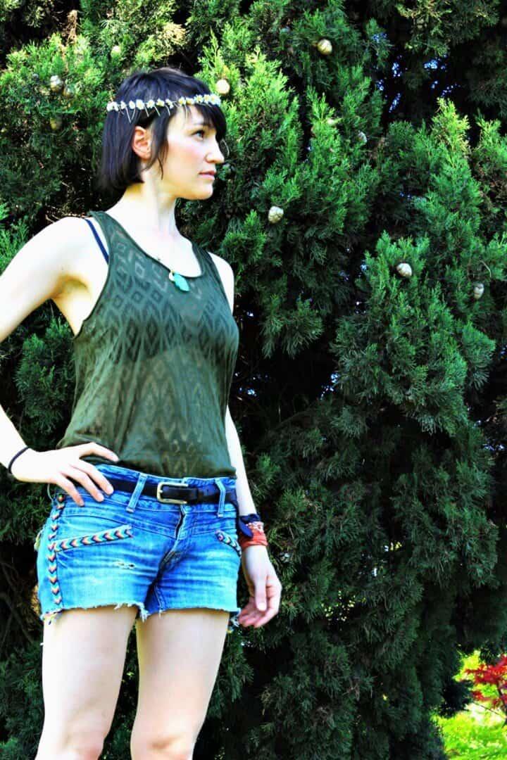 Crea pantalones cortos de verano indios: atuendos de bricolaje para el verano