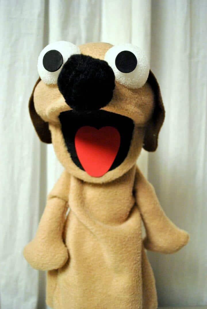Crea tu propia marioneta para perros: bricolaje para niños