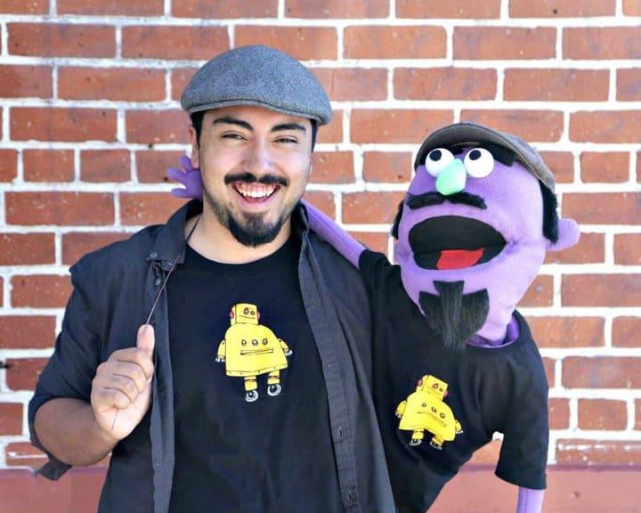 Tutorial de marionetas Muppet de bricolaje