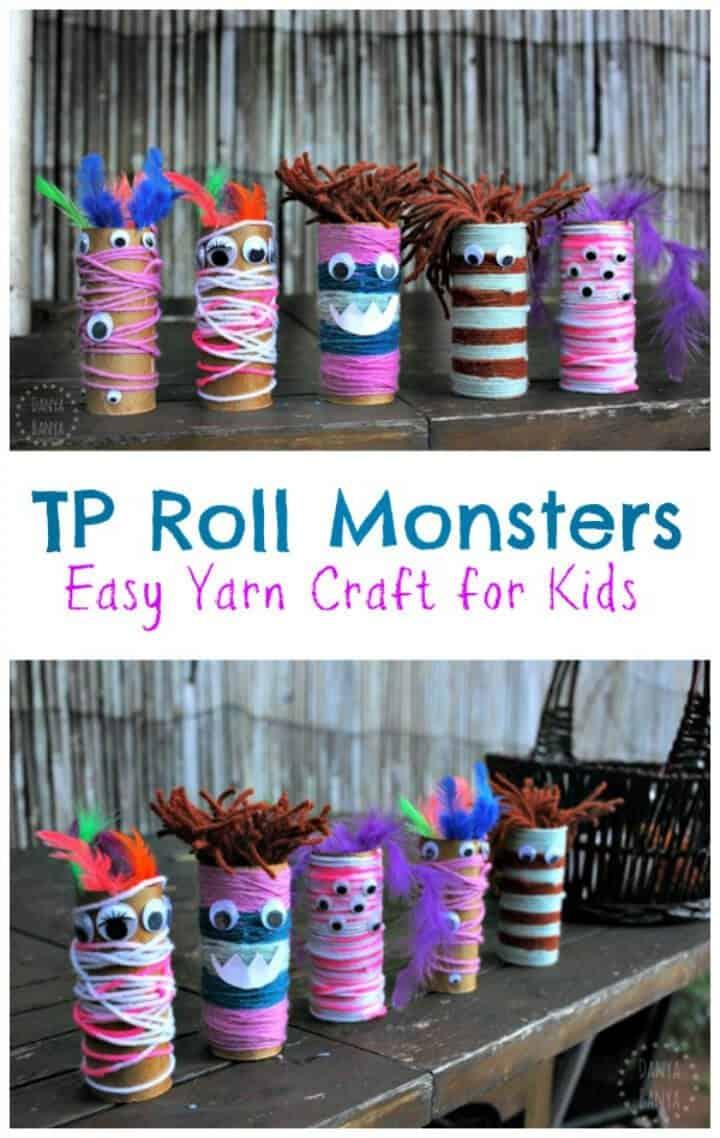 Crea un TP Roll Monsters