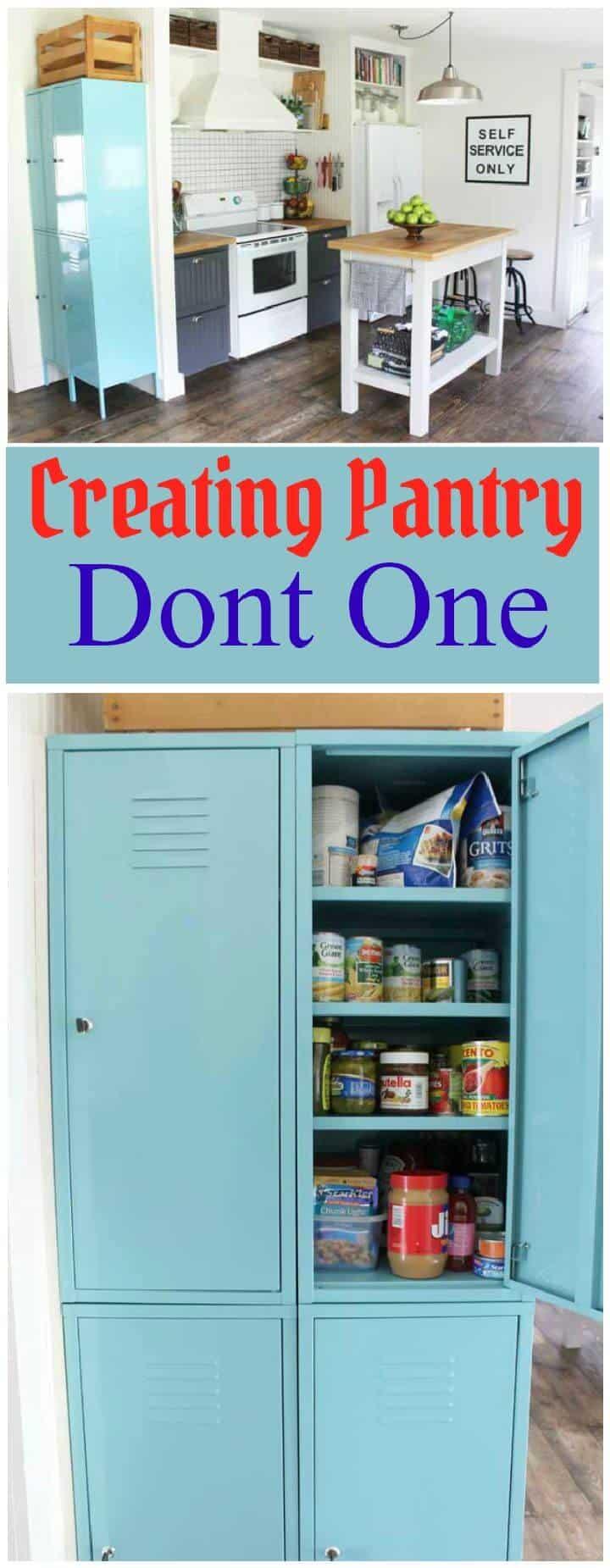 Creando Pantry Dont One