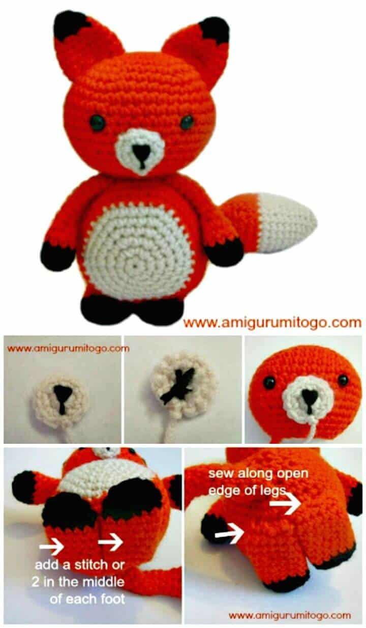 Crochet This Adorable Mister Fox - Patrón gratuito