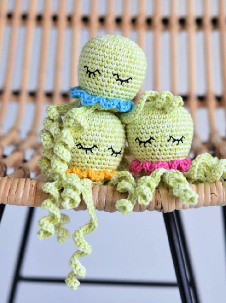 Pulpo A Crochet Amigurumi
