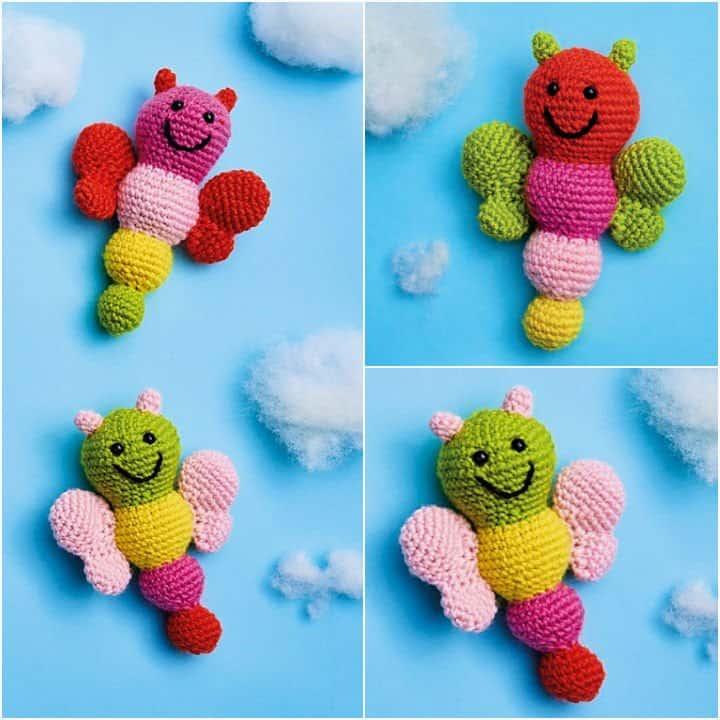 Amigurumi Mariposas A Crochet