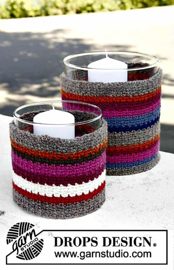 Cómo tejer una vela en crochet
