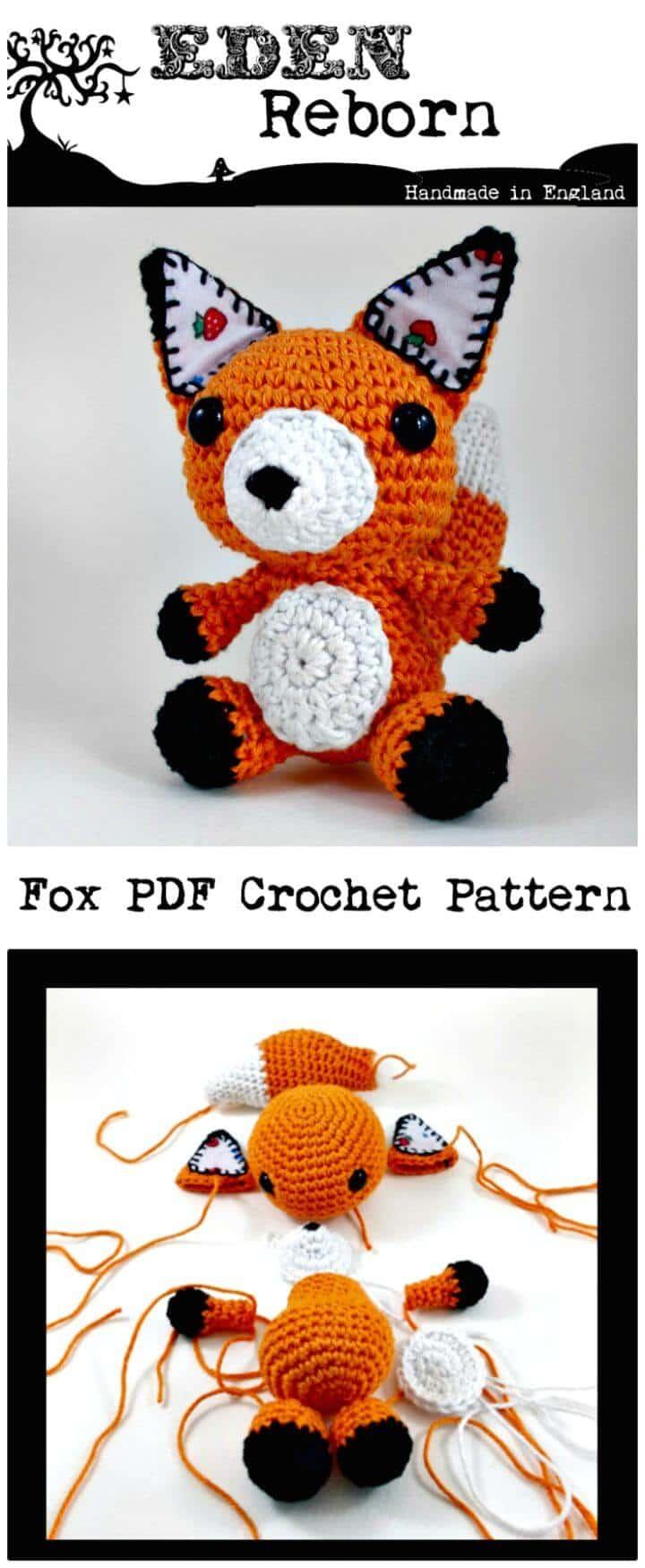Crochet Feeling Foxy - Un nuevo patrón de zorro