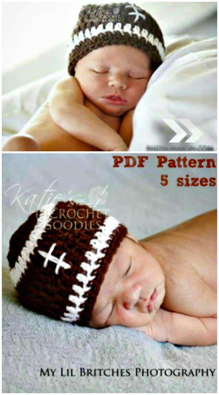 Gorro de crochet fácil para bebé