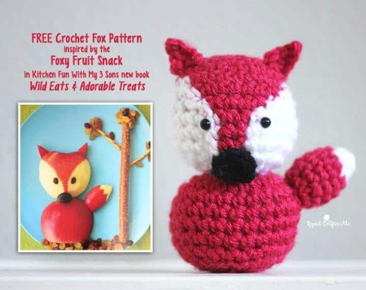 Crochet Fox Amigurumi - Patrón Gratis