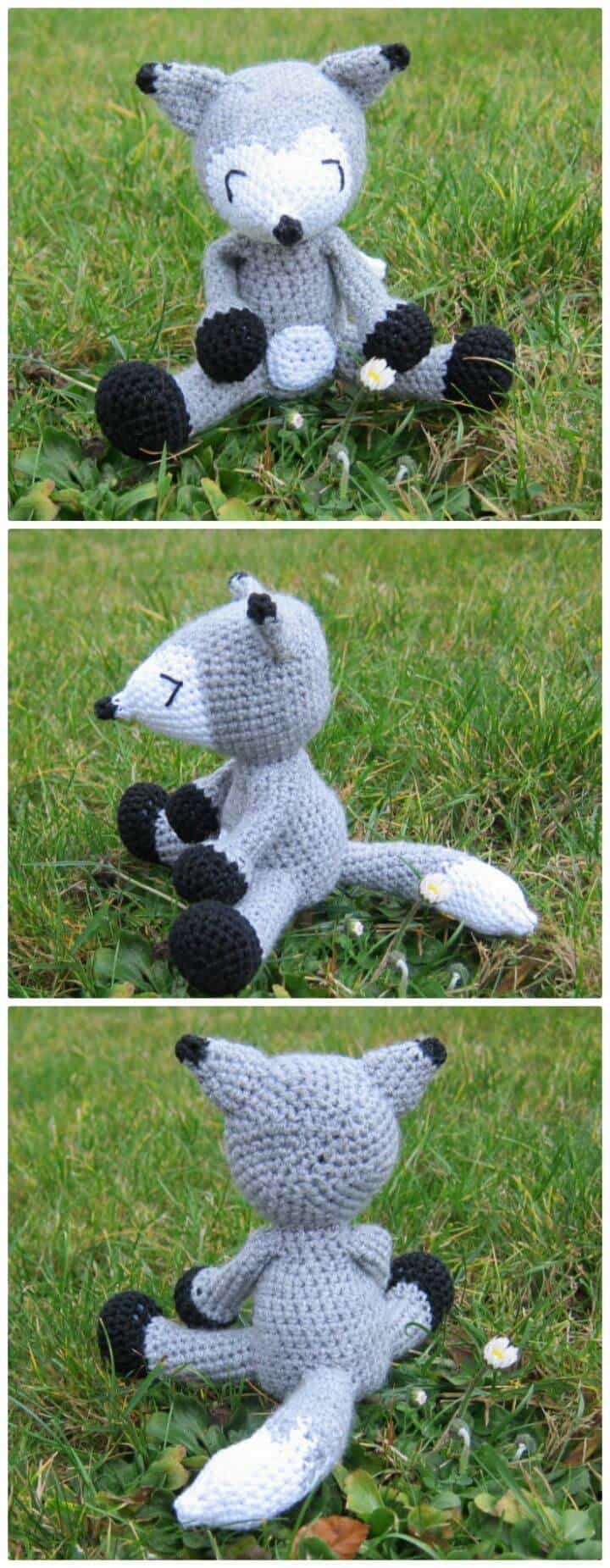Crochet Fox Billy - Patrón gratuito