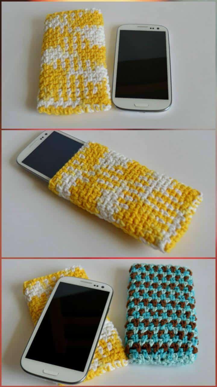 patrón de cubierta de crochet galaxy s3 gratis