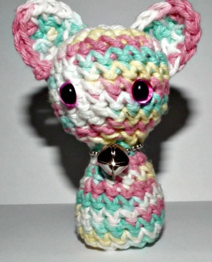 Cómo tejer a crochet patrón de gatito gratis