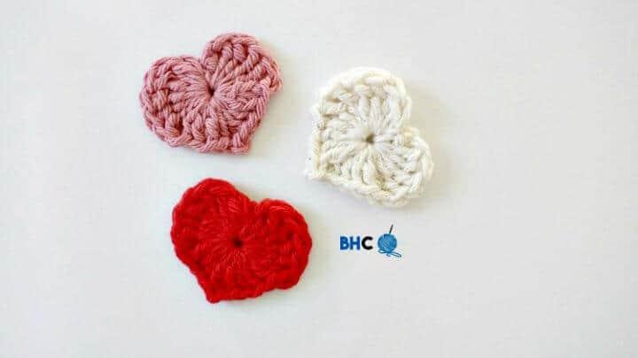 Crochet Magic Hearts - Free Pattern