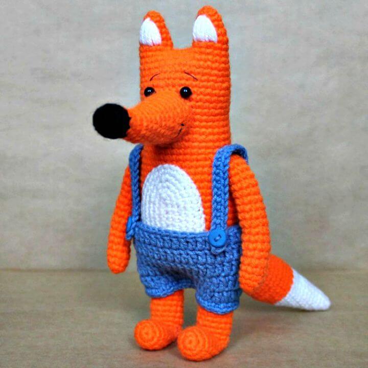 Cómo tejer Mr Fox - Patrón gratuito