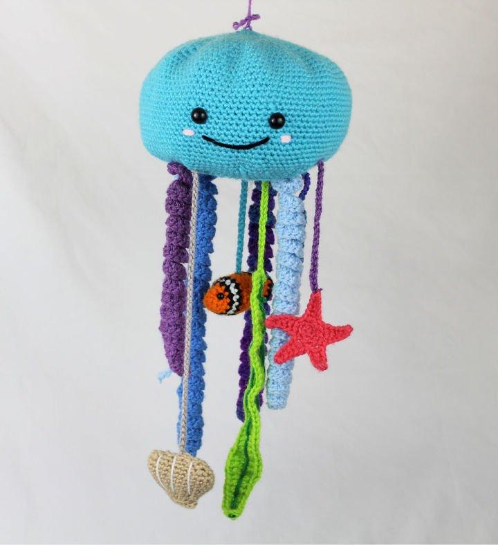 Móvil Octopus Baby Crochet