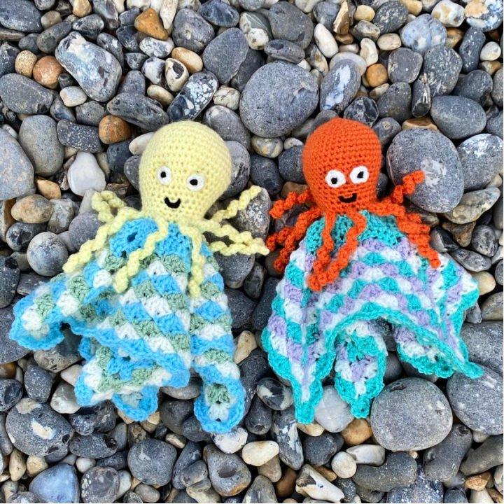 Crochet Osmond el pulpo