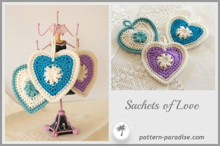 Crochet Sachets And Trinkets - Free Pattern