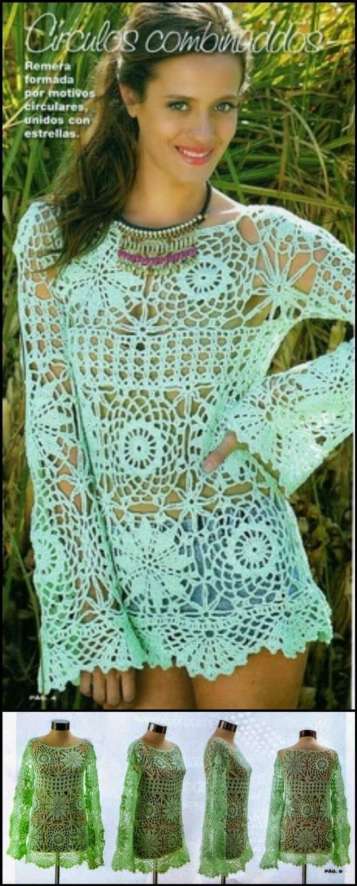 crochet gratis Selena Gomez hit crochet abrigo