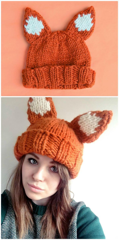 Crochet This Chunky Foxy Hat Free Pattern