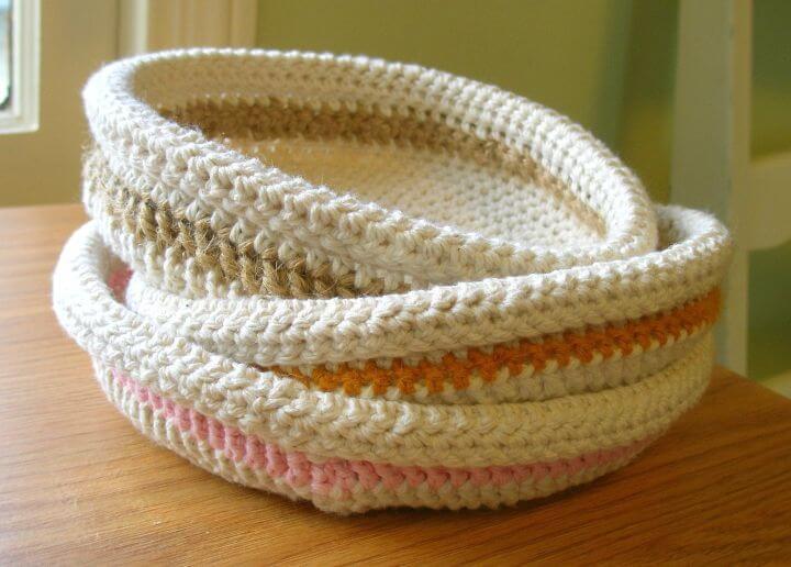 Cómo tejer una cesta fácil y rápida a crochet - Patrón gratuito