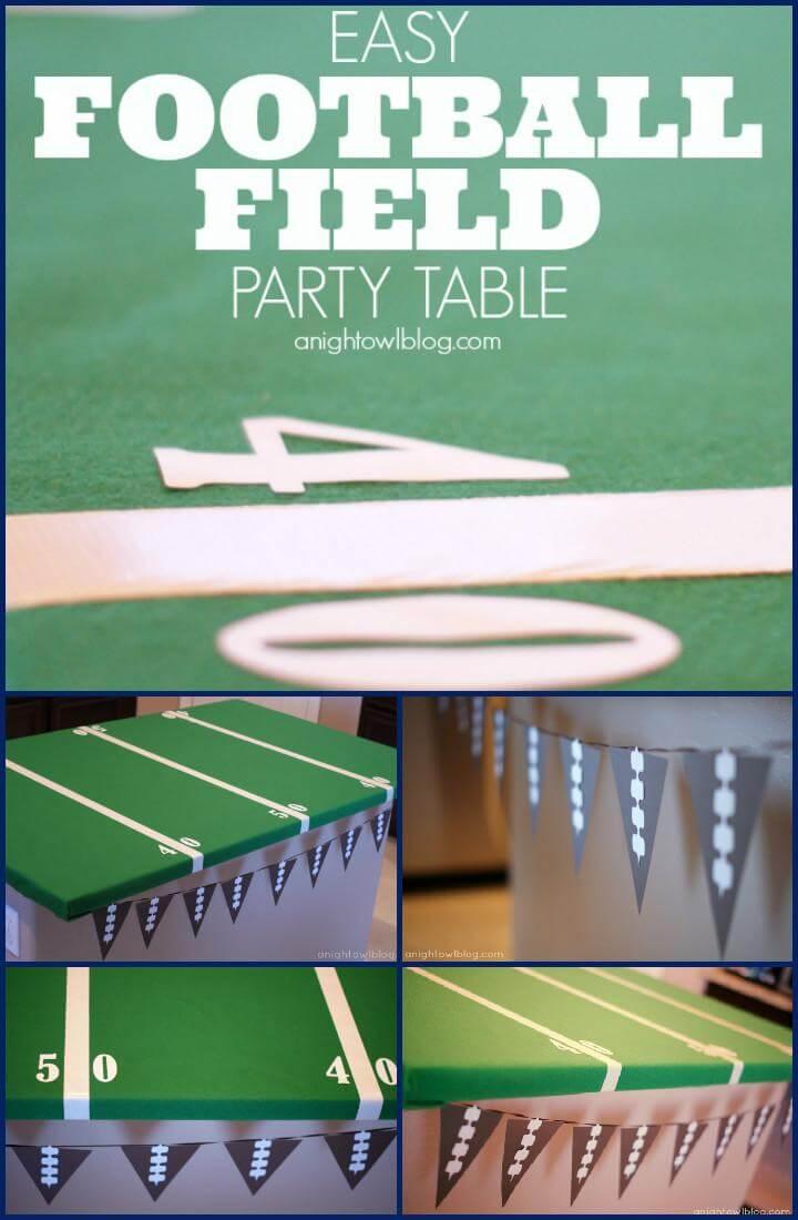 mesa de campo de fútbol mejorada vinyle