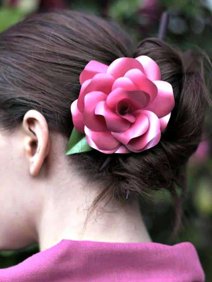 Cómo hacer rosas de papel DIY